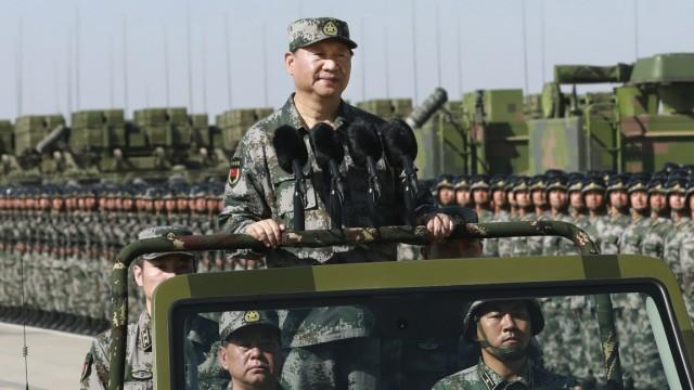 Xi Jinping Parteitag der KP in Peking