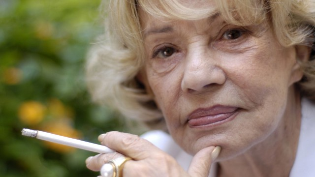 Sep 15 2005 Toronto ON Canada French acting legend JEANNE MOREAU at the 2005 Toronto Internatio