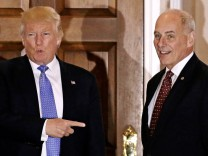 Donald Trump und Ex-General John Kelly