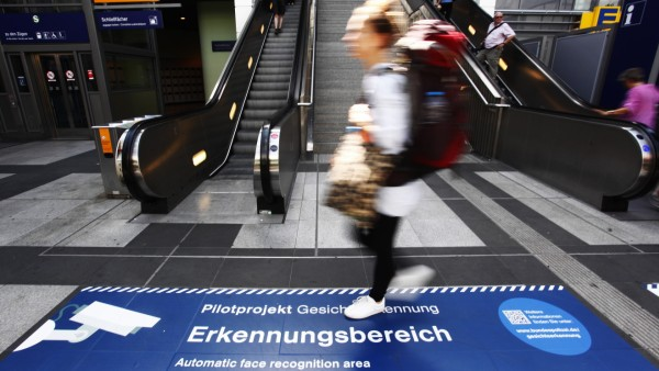 Police Test Facial Recognition Software At Berlin Train Station