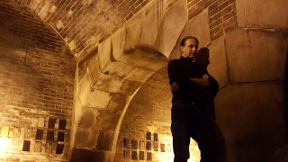 Jarek Lustych, Kunstprojekt im Abwasserkanal beim Nordfriedhof