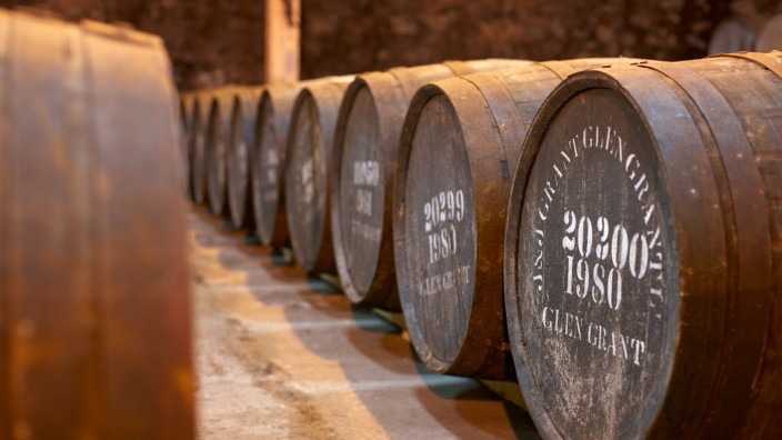 Geschmack braucht Zeit: Auf einen Whisky zu Glen Grant