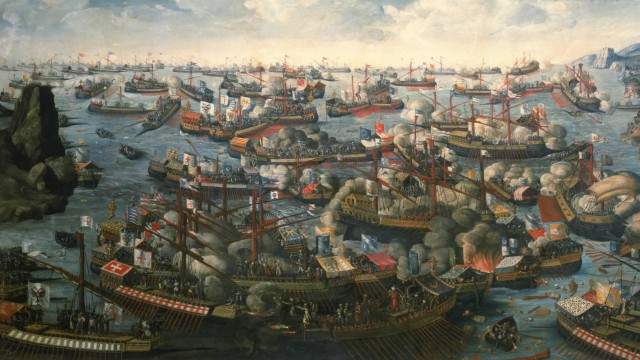 Battle of Lepanto of 1571,