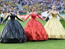 Fussball Herren Saison 2015 16 DFB Pokal Finale in Berlin FC Bayern München Borussia Dortmund