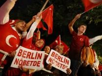 Erdoğan Anhänger in Berlin Deutschland