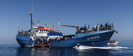 Privates deutsches Rettungsschiff