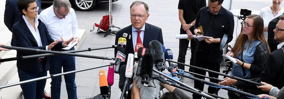 Pressekonferenz Weil