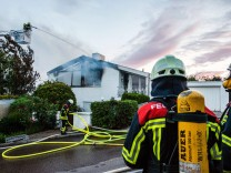Feuer in Einfamilienhaus - 300 000 Euro Schaden