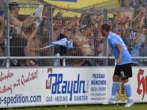 05 08 2017 Fussball Regionalliga Bayern 2017 2018 5 Spieltag SV Schalding Heining TSV 1860 Münc