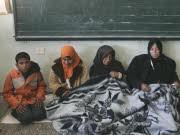 Palästinenser suchen in UN-Schule Zuflucht, AP