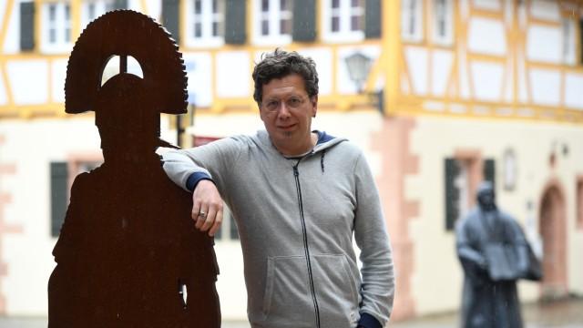 DEU, Deutschland, Bayern, Weissenburg, 26.07.2017: - Franzobel, Stadtschreiber von Weissenburg