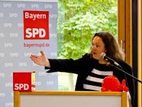 Andrea Nahles bei SPD in Markt Schwaben