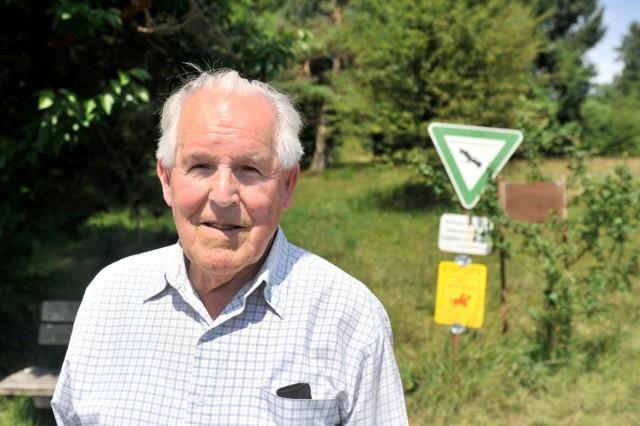 Andechs: Paul Trauner am Mesnerbichl