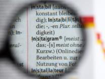 Duden - Das Wort Instagram