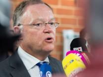 Regierungskrise Niedersachsen - Pk Weil
