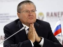 Ex-Wirtschaftsminister Alexej Uljukajew