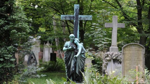 Glaube und Religion Urne statt Grab