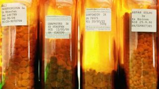 Stoffe für homöopathische Arzneimittel