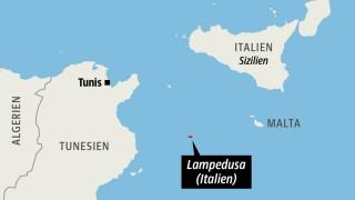 Flüchtlingsdrama vor Lampedusa Seenotretter im Mittelmeer