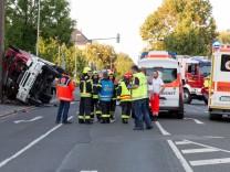 20-Jähriger stirbt bei Unfall in Feuerwehrauto