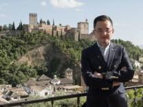 Granada CF president Jiang Lizhang