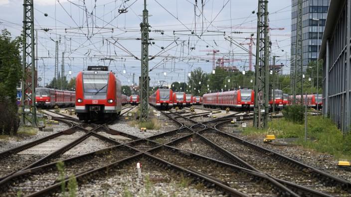 S-Bahndepot in München, 2017