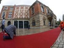 Eröffnung der 106 Richard Wagner Festspiele in Bayreuth mit der Neuinszenierung Die Meistersinger v