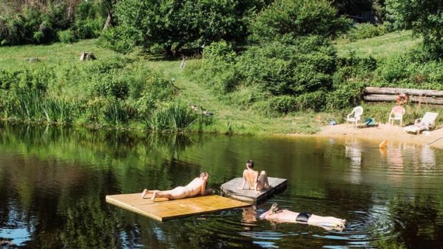 Kommunen Hippie-Kommune in den USA