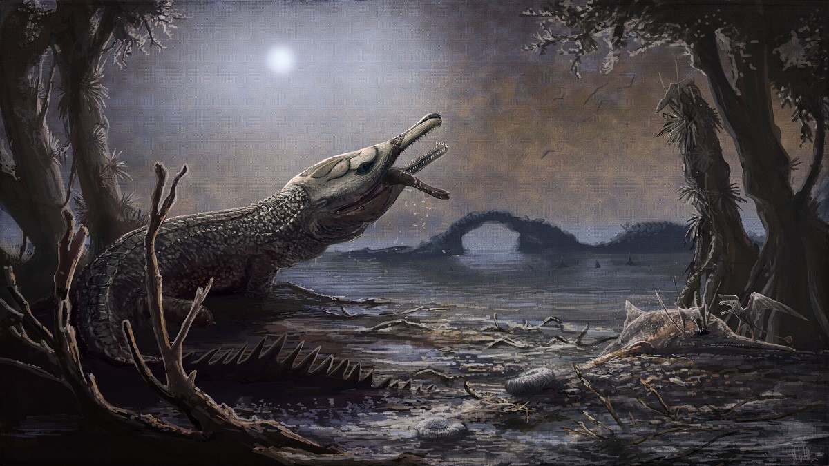 """Lemmysuchus"", das Urzeit-Krokodil"