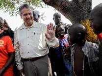 Außenminister Gabriel in Uganda