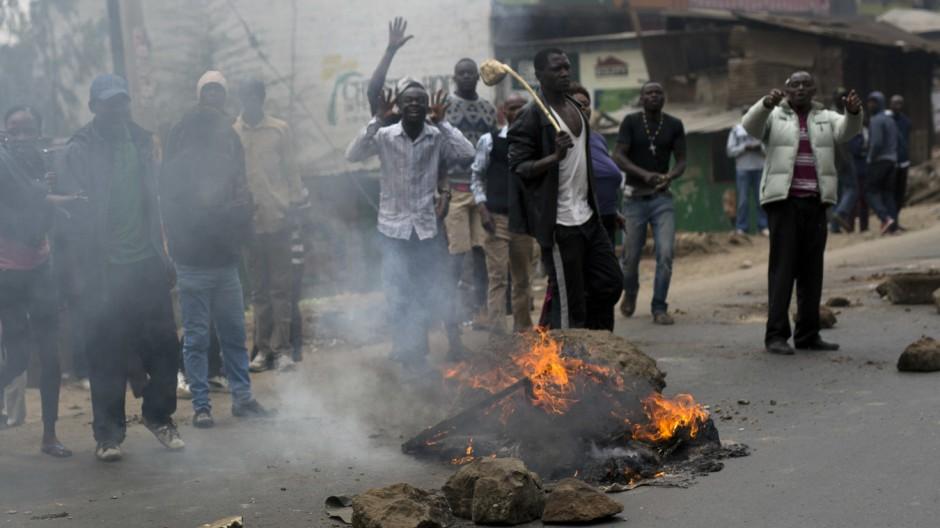 Wahlen in Kenia
