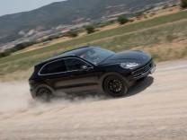 Porsche bereitet Start der dritten Cayenne-Generation vor