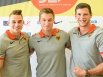 Speerwurf-Trio träumt von Medaillen-Triple