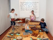 Zu Besuch im Dießener Orff-Museum