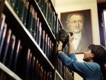 Goethe in der Uni Greifswald