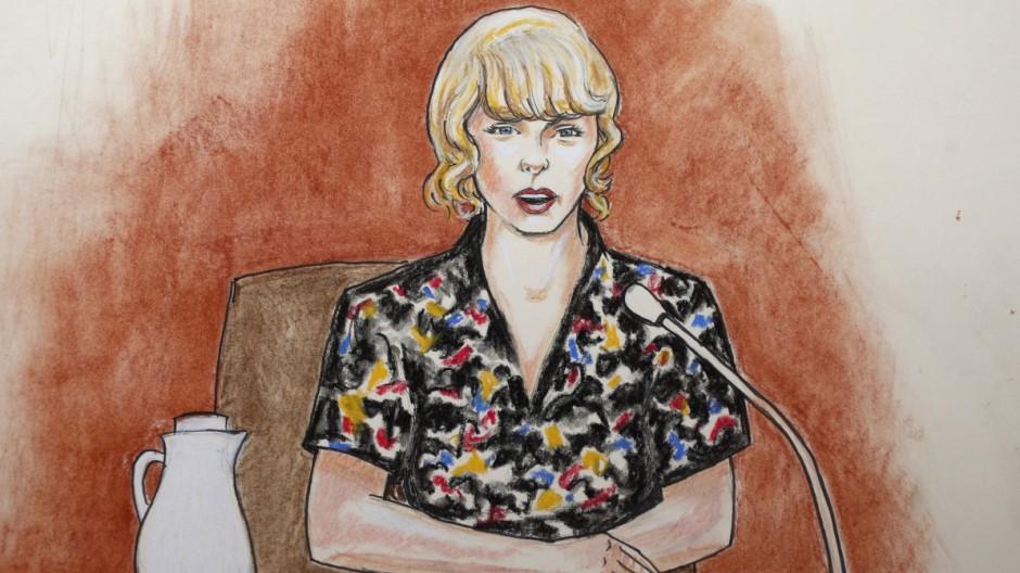 Taylor Swift Vorwurf der sexuellen Belästigung