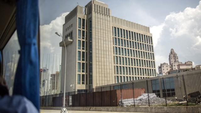 Künftige US Botschaft in Kuba