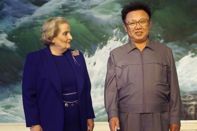 NORTH KOREA US ALBRIGHT