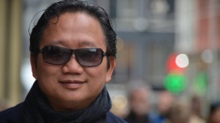 Trinh Xuan Thanh, former executive at a state oil company PetroVietnam, is seen on a street in Berlin