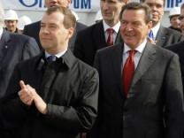 Offizieller Baustart der Ostsee-Pipeline