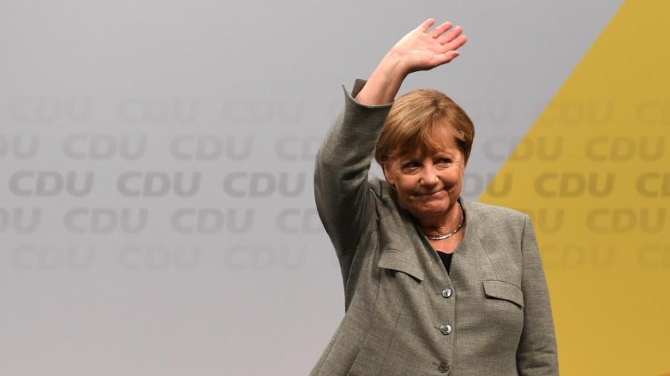 Abgasaffäre Merkel im CDU-Wahlkampf