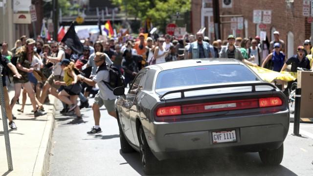 Demonstration von Rechtsextremisten in USA