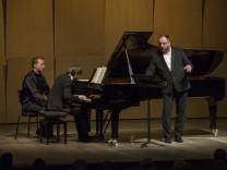 Liederabend Goerne Trifonov 2017: Daniil Trifonov, Matthias Goerne