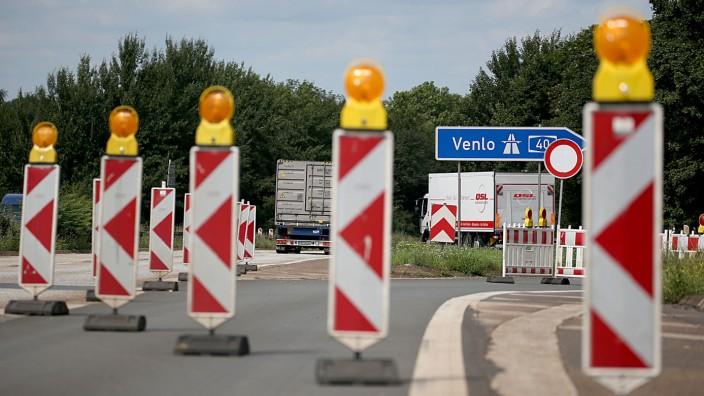 Krisengipfel zur maroden A40-Rheinbrücke