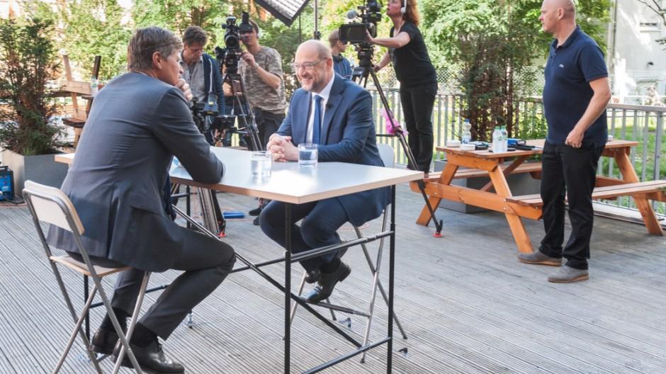 """Schulz im Sommerinterview der ZDF-Sendung ´Berlin direkt"""""""