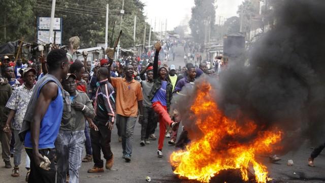 Wahlen in Kenia Präsidentschaftswahlen