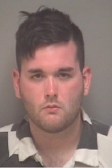James Alex Fields Jr. is seen in police handout photo after his arrest in Charlottesville