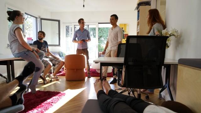 Start-up Jungunternehmer