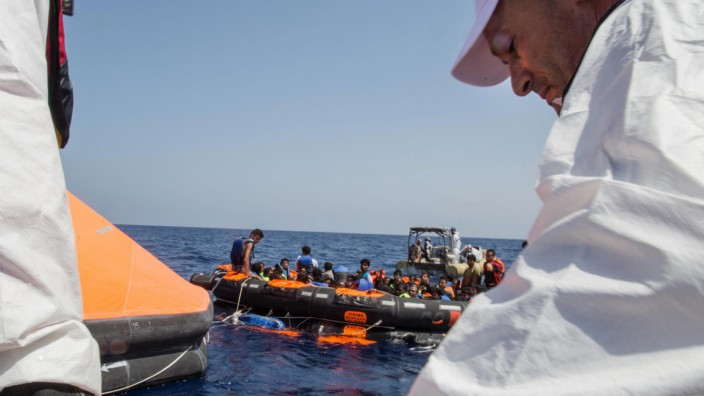 Dozens of migrants feared dead as boat capsizes off Libya