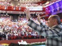 Erdogan in Antalya